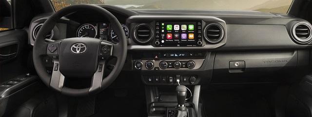 2020 Toyota Tacoma Diesel interior