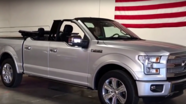 Ford F-150 Convertible Front