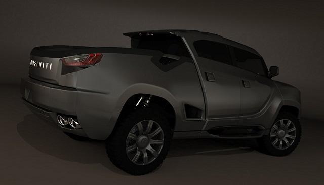 Infiniti Pickup Truck Concept rear