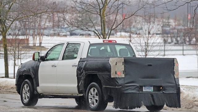 2020 Toyota Tundra Diesel Spy Shot