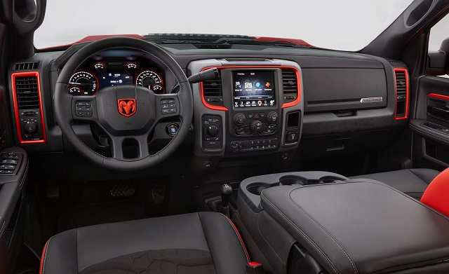 Ram Macho Power Wagon interior