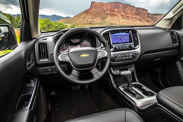 Chevy Colorado Diesel interior