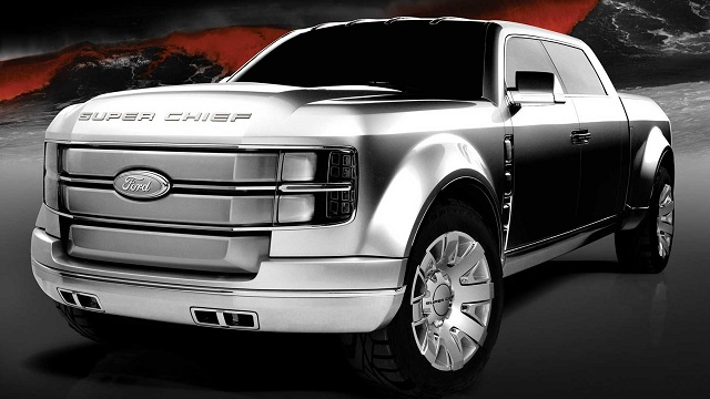 Ford F-250 Super Chief 2006 Concept front