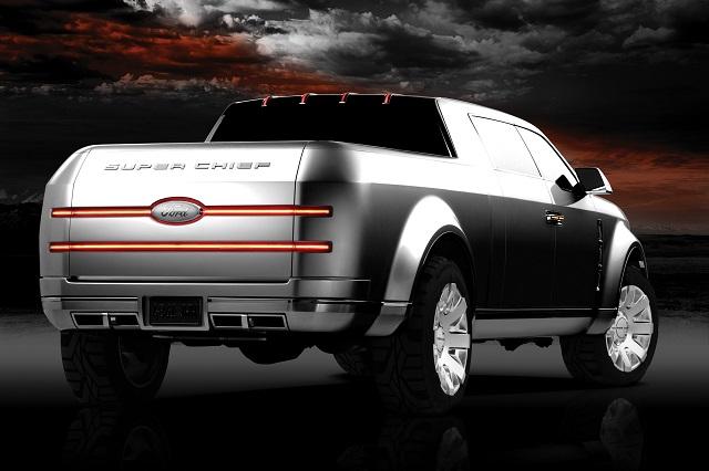 Ford F-250 Super Chief 2006 Concept rear