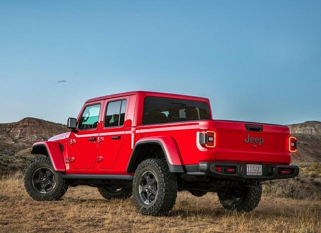 2020 Jeep Gladiator Diesel towing