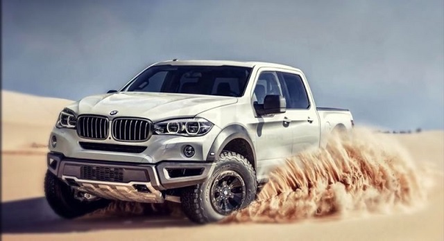 Bmw X7 Pickup Truck Concept Has Zero Chance For Production Pickup Truck Newspickup Truck News
