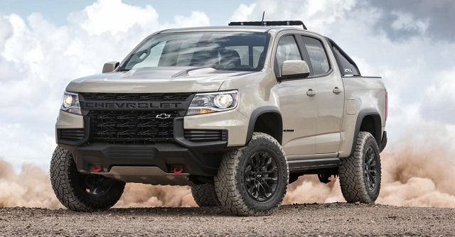 2021 Chevy Colorado refresh