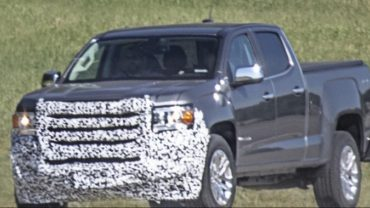 2021 GMC Canyon Spy shot