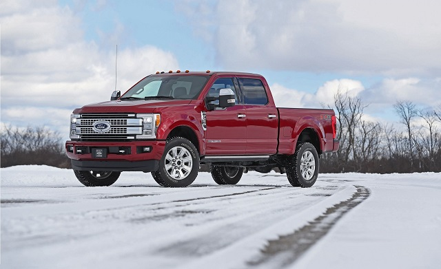 2021 Ford F-350 changes