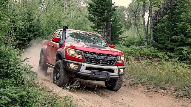 2021 Chevy Colorado ZR2 Bison specs