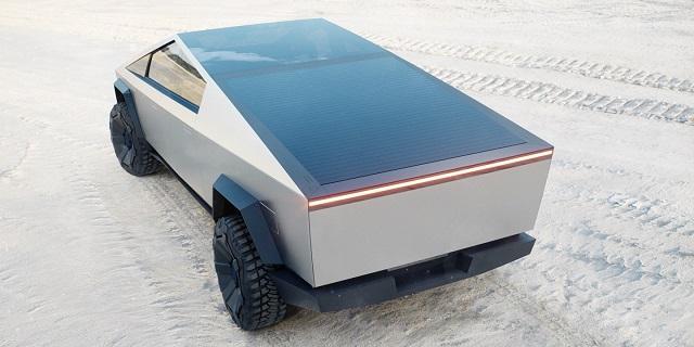 2021 Tesla Pickup Dimensions