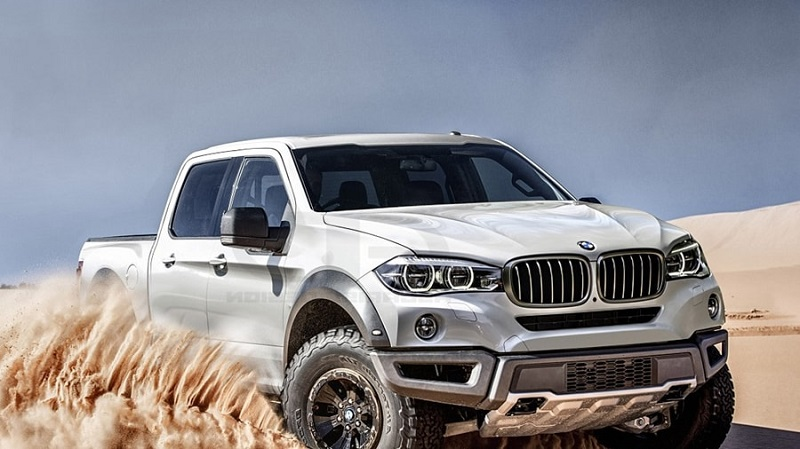 2021 BMW Pickup Truck Rendering