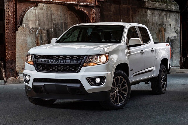 2021 Chevy Colorado Diesel Facelift