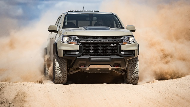 2021 Chevy Colorado Diesel ZR2