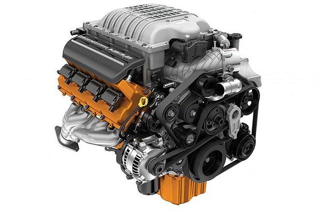 2021 Dodge Ram 1500 Hellcat Engine