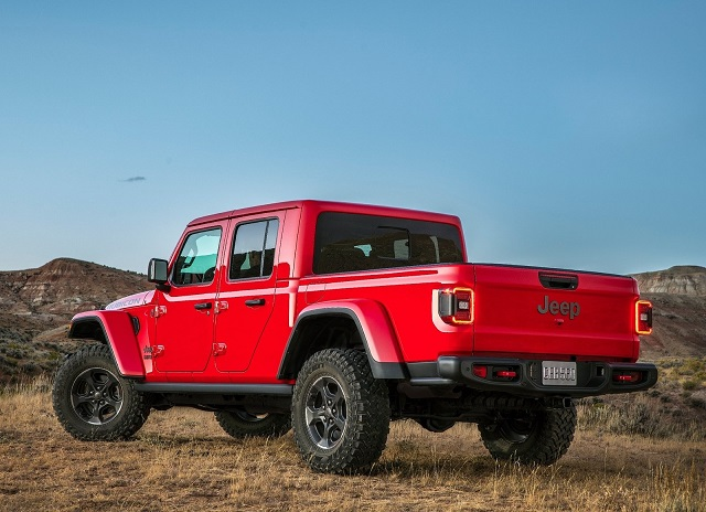 2021 Jeep Gladiator Diesel towing