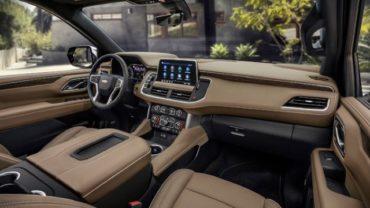 2021 Chevy Silverado 1500 Diesel Interior Renering