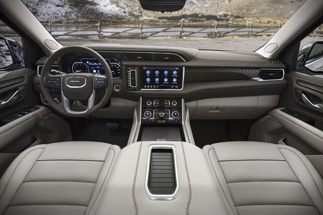 2021 GMC Sierra Denali 1500 Interior