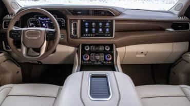 2021 GMC Sierra 1500 Diesel Interior Render