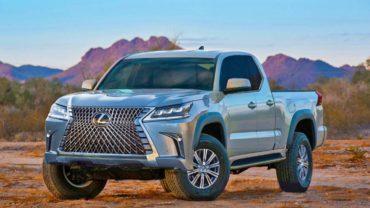 2021 Lexus Truck rendering
