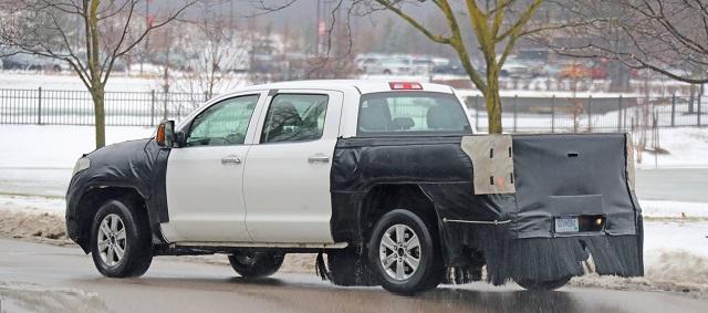 2021 Toyota Tundra Diesel Rear Suspension