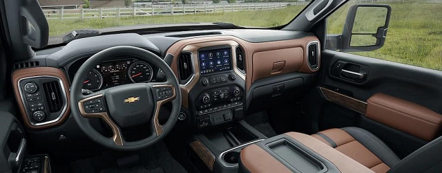 2021 Chevy Silverado HD Interoir