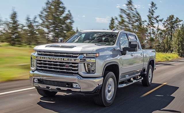 2021 Chevy Silverado HD Towing Capacity