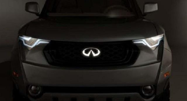 2021 Infiniti Pickup Truck Render