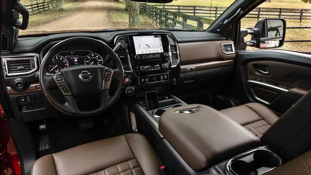 2021 Nissan Titan XD Interior