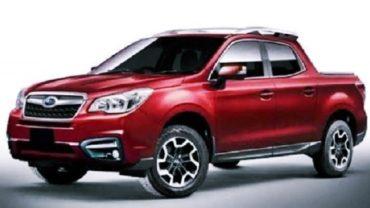 2021 Subaru Truck Rendering
