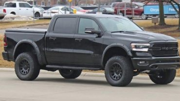 2020 Ram Rebel TRX Spy Shot