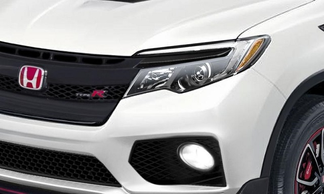 2021 Honda Ridgeline Type R grille