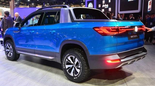 2021 VW Tarok rear