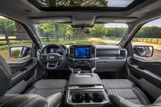 2021 Ford F-150 Hybrid Interior