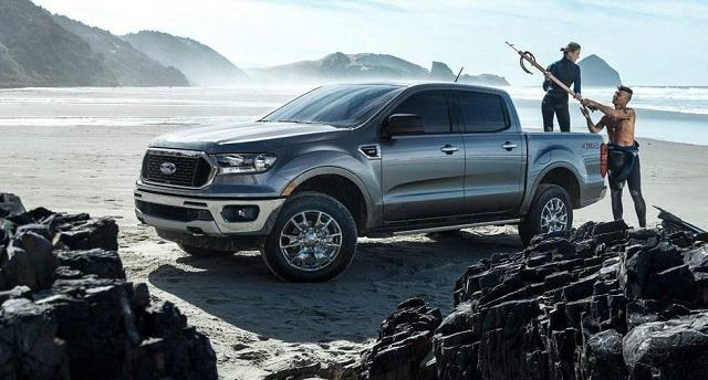 2021 Ford Ranger Hybrid rendering