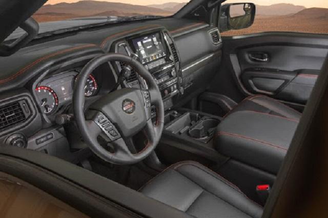 2021 Nissan Titan Pro-4X Interior