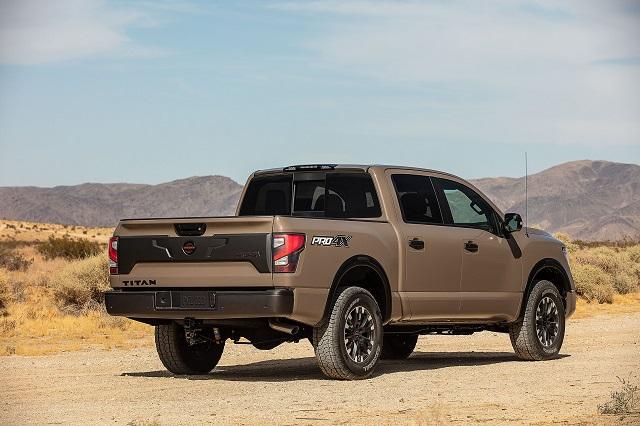 2021 Nissan Titan Pro-4X price