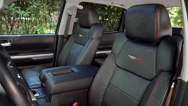 2021 Tundra TRD Pro interior