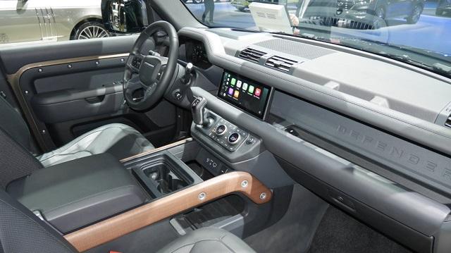 2021 Land Rover Defender Pickup Truck Interior