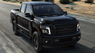 2021 Nissan Titan Midnight Edition featured