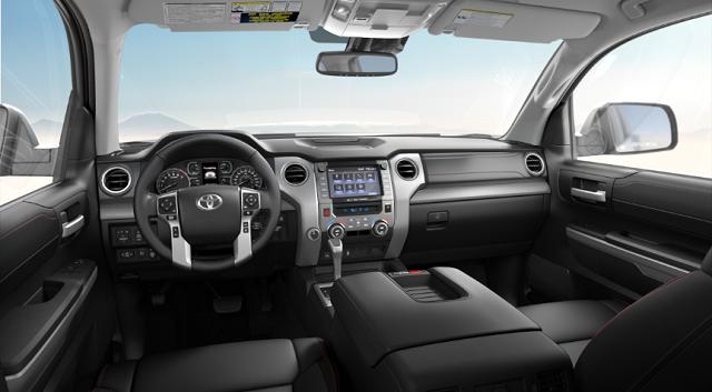 2021 Toyota Tundra Platinum Interior