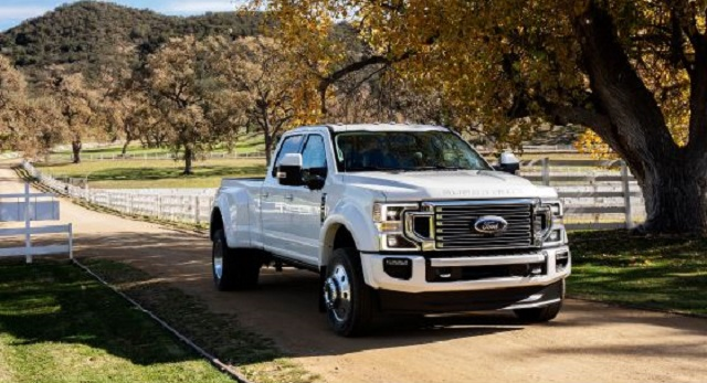 2021 Ford F-350 Dually front