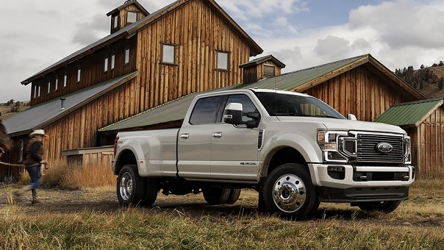 2021 Ford F-350 Dually release date