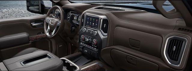2021 GMC Sierra Denali 3500HD Dually interior