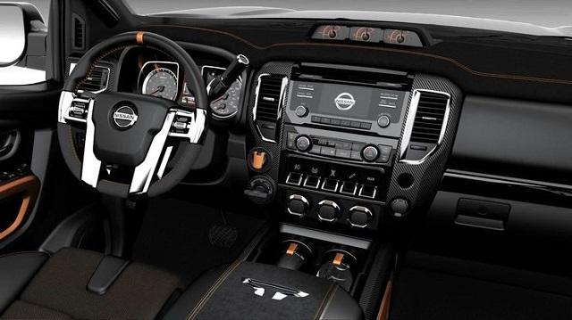 2021 Nissan Titan Warrior Interior