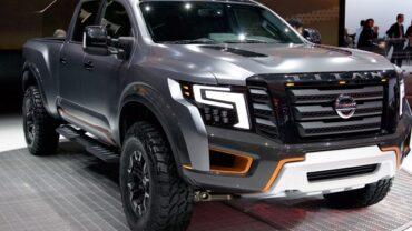 2021 Nissan Titan Warrior concept