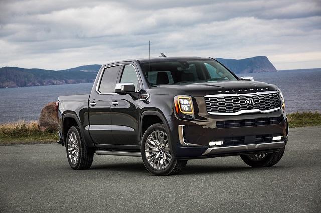 2022 Kia Pickup Truck render