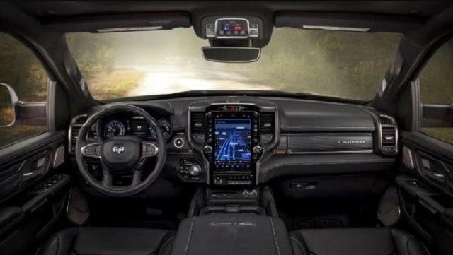 2021 Ram 2500 Limited Interior