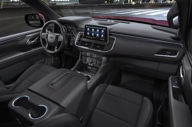 2022 Chevy Silverado 1500 Interior Rendering