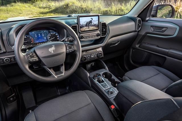2022 Ford Maverick Interior Render